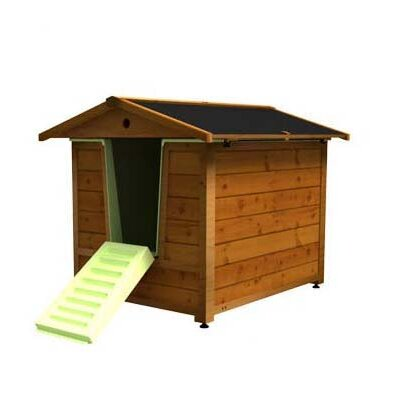 Dog House and Bath Combo