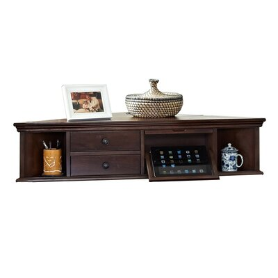 Belcourt Corner Hutch with Charging Station image