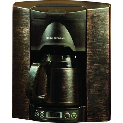 4 Cup Built-In-The-Wall Self-Filling Coffee and Hot Beverage System Finish: Bronze BE-104R-144A