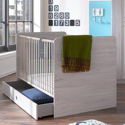 Babybett Bornholm   Kinderzimmer > Babymöbel > Babybetten & Babywiegen   White   Holzwerkstoff   Wimex