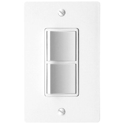 Combination 2-Function Fan Switch Finish: White