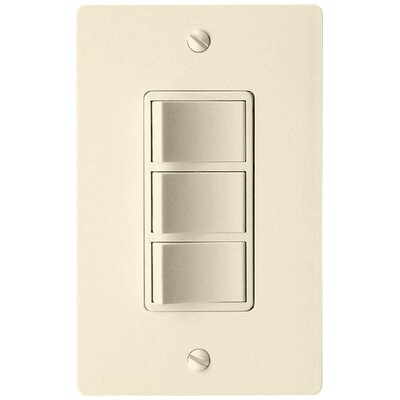 Combination 3-Function Fan Switch Finish: Almond