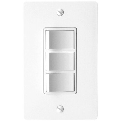 Combination 3-Function Fan Switch Finish: White