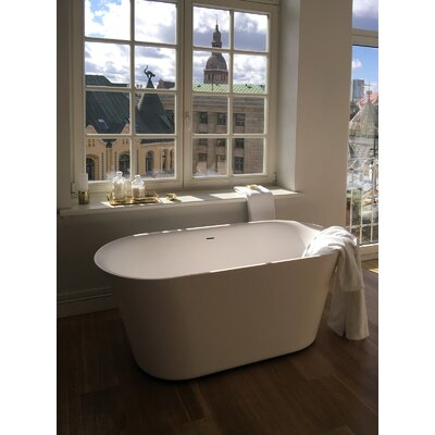 Tulip-Grande-Wht� 71x 31  Freestanding Soaking Bathtub