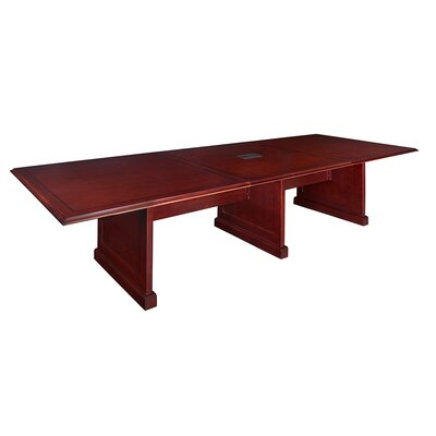 Christofor Rectangular Conference Table Size: 20 L