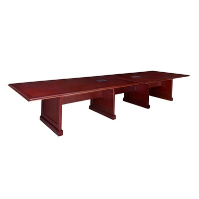 Christofor Rectangular Conference Table Size: 16 L
