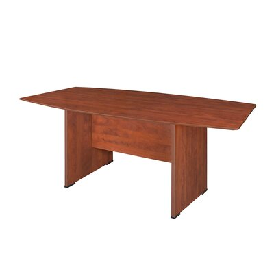 Sandia Boat Shaped Conference Table Finish: Cherry, Size: 8 L