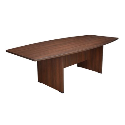 Sandia Boat Shaped Conference Table Finish: Java, Size: 8 L