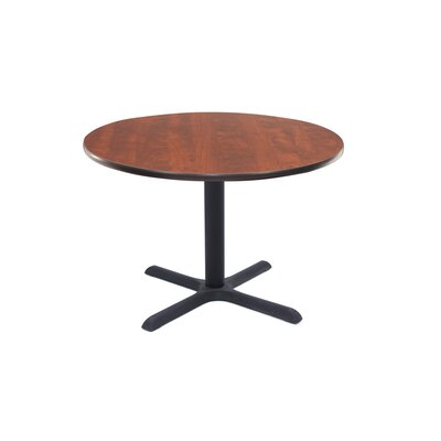 Barto Circular 29H x 43.2W x 43.2L Conference Table Finish: Mahogany, Size: 3 6 L