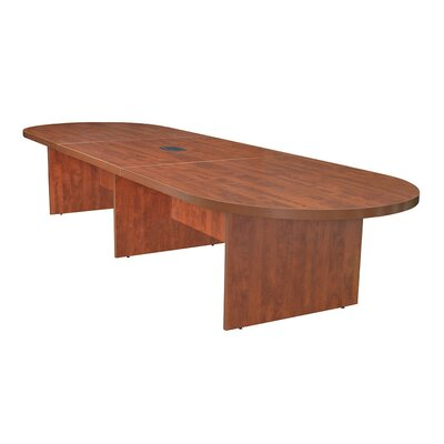 Legacy Oval Conference Table Finish: Cherry, Size: 12 L