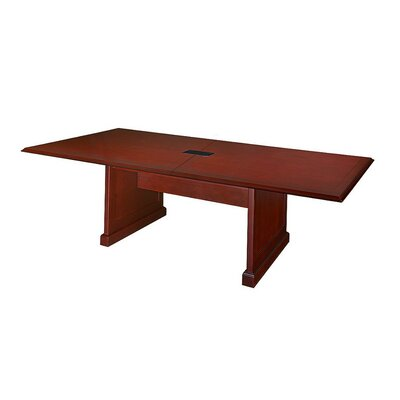 Prestige 4 Rectangular Conference Table Size: 10 L