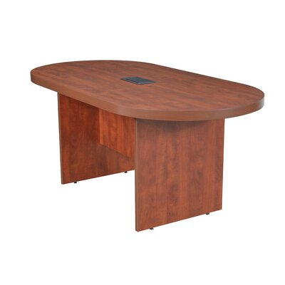 Legacy Oval Conference Table Finish: Cherry, Size: 6 L
