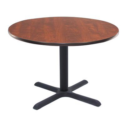 Barto Circular 29H x 43.2W x 43.2L Conference Table Finish: Cherry, Size: 3 6 L