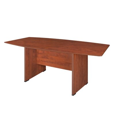 Sandia Boat Shaped Conference Table Finish: Cherry, Size: 6 L