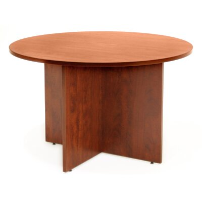 Legacy Circular Conference Table Size: 4 L Diameter, Finish: Cherry