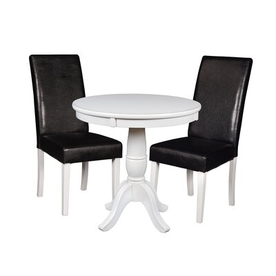Niche Dining Set Finish: White