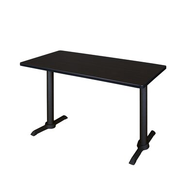 Training Table Tabletop Finish: Grey Nebula, Size: 72 W
