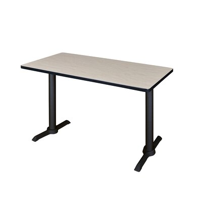 Training Table Tabletop Finish: Maple, Size: 48 W