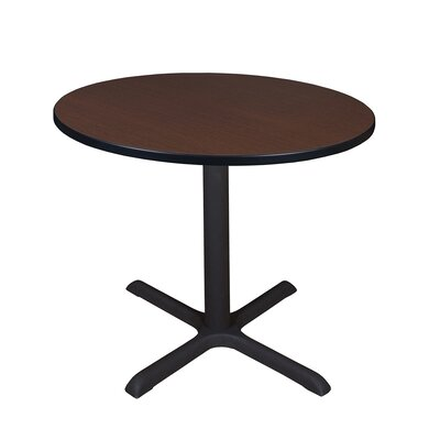 Barto Circular 29H x 43.2W x 43.2L Conference Table Finish: Mocha Walnut, Size: 3 6 L