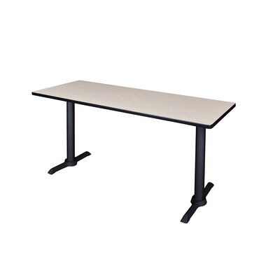 Training Table Tabletop Finish: Maple, Size: 66 W