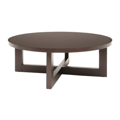 Regan Coffee Table Color: Mocha Walnut