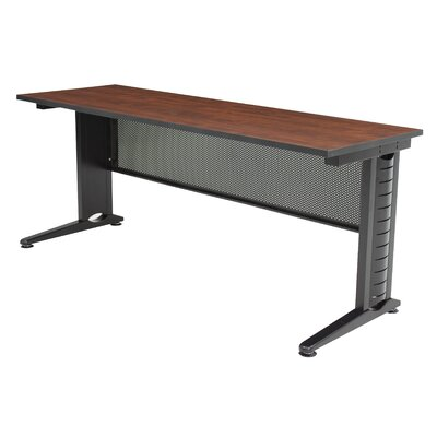48 W Fusion Training Table with Leg Glides Tabletop Finish: Cherry, Size: 29 H x 72 W x 24 D
