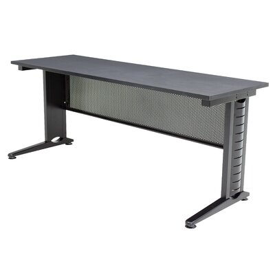48 W Fusion Training Table with Leg Glides Tabletop Finish: Grey Nebula, Size: 29 H x 48 W x 24 D