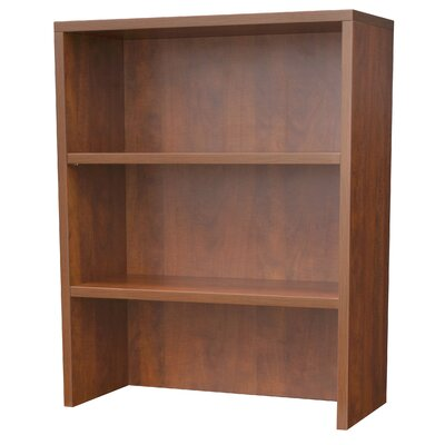35 H x 30 W Desk Hutch Laminate Finish: Cherry