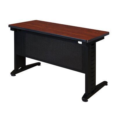 48 W Fusion Training Table with Leg Glides Tabletop Finish: Cherry, Size: 29 H x 48 W x 24 D