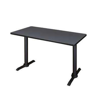 Training Table Size: 42 W, Tabletop Finish: Grey Nebula
