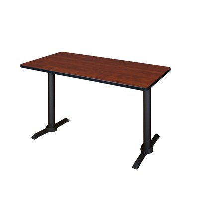 Training Table Size: 66 W, Tabletop Finish: Cherry