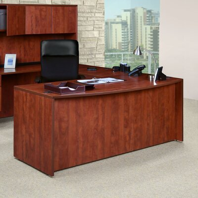 36 H Desk Hutch Finish: Cherry, Size: 71 Wide