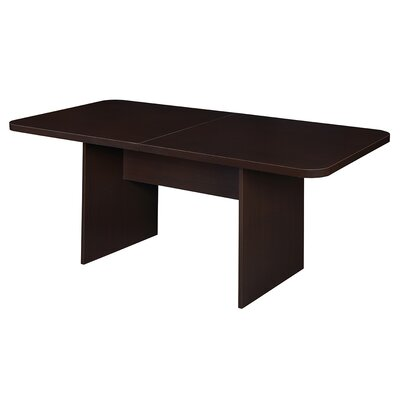 Niche M?d Rectangular 29H x 42W x 84L Conference Table Finish: Truffle