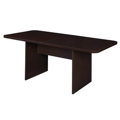 Niche M?d Rectangular 29H x 68W x 34L Conference Table Finish: Truffle