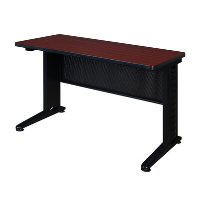 42 W Stivers Training Table Tabletop Finish: Mahogany
