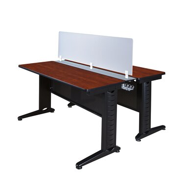 Fusion Workstation with Partition Finish: Cherry