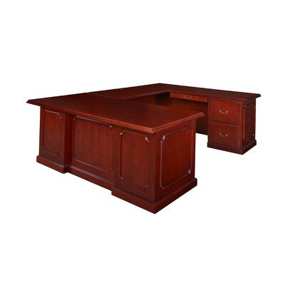 Christofor U Shape Executive Desk Double Pedestal Product Picture 2788