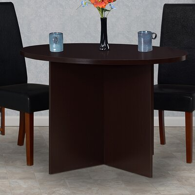 Niche Mod Round Dining Table Finish: Truffle