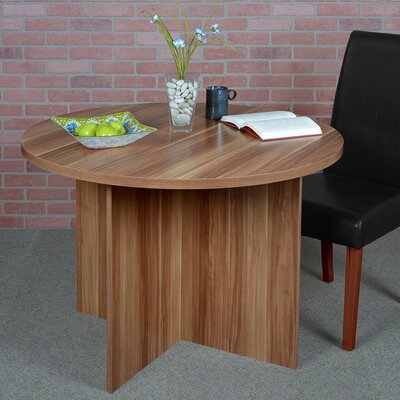 Niche Mod Round Dining Table Finish: Warm Cherry
