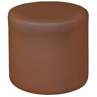 Bitner Round Ottoman Upholstery: Toffee