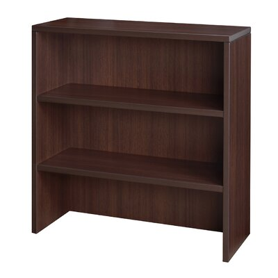 Linh 36 H x 35 W Desk Hutch Finish: Java
