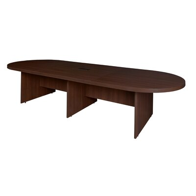 Linh Modular Racetrack Conference Table Size: 29 H x 264 W x 52 D