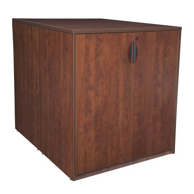 Stand Up Back To Back Wood Storage Cabinet Product Image 1694