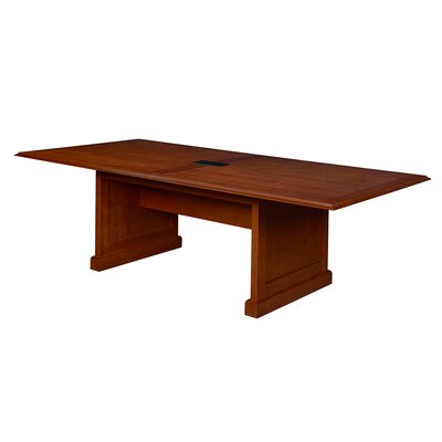 Christofor Rectangular Conference Table Size: 48 H x 120 W