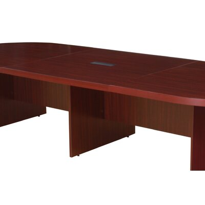 Legacy 48 Modular Extension with Grommet for Legacy Modular Conference Tables Laminate: Mahogany