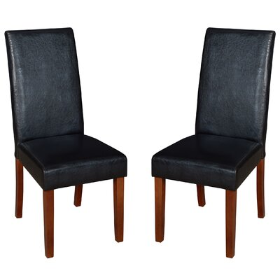 Niche Tyler Parsons Chair Finish: Black/Cherry