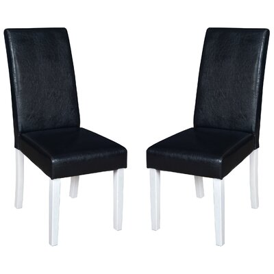 Niche Tyler Parsons Chair Finish: Black/White