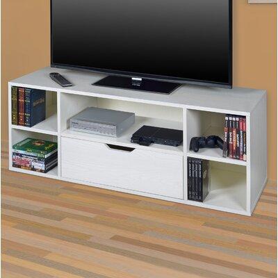 Niche 48 TV Stand Color: White Woodgrain