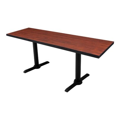 Training Table Tabletop Finish: Cherry, Size: 60 W