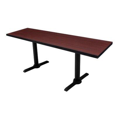 Training Table Tabletop Finish: Mahogany, Size: 60 W